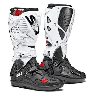 Sidi Crossfire 2 Srs Motocross MX Enduro Vélo Bottes NoirBlanc Exclusive   eBay