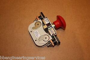 SCHALTBAU-160A-STOP-EMERGENCY-ISOLATOR-SWITCH-S135-M100-NSN-5930998318545