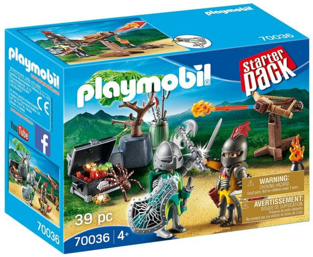 Playmobil StarterPack Knight's Treasure Battle Set #70036