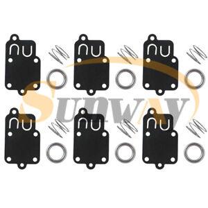 6x-Carburateur-Membrane-Kit-Pour-Briggs-amp-Stratton-270026-avec-Carb-Ressort