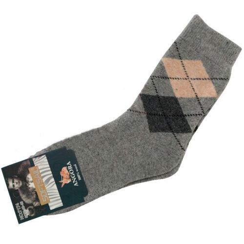 Men/'s slippers for home use angora socks GIFT