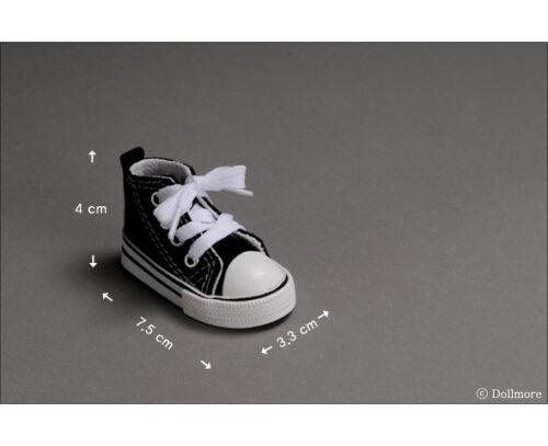 Nika Sneakers Dollmore Black 1//4 BJD shoes MSD