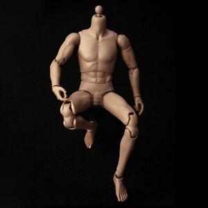No Head for Hot Toys 1//6 Scale Muscular Nude Body Male Action Figure Toy