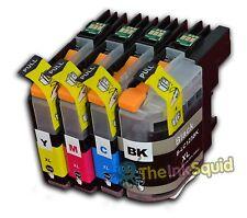 4 LC123 Cartuchos de tinta para la impresora DCP-J132W DCP-J152W DCP-J552DW Brother
