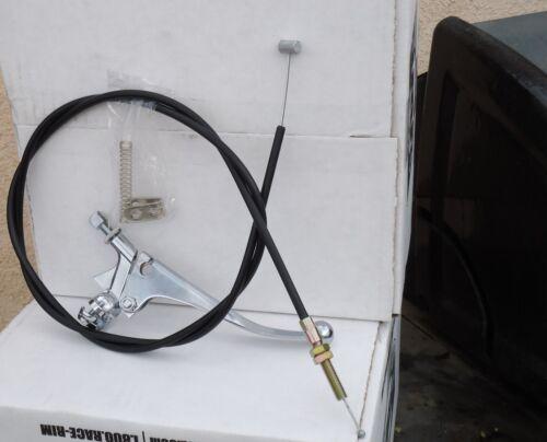 MINI BIKE BRAKE CALIPER KIT 40-41 SPROCKET LEVER CABLE HARDWARE FREE SHIP