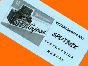 ENGLISH-MANUAL-BOOKLET-for-SPUTNIK-stereo-6x6-camera-amp-set-amp-viewer-INSTRUCTON