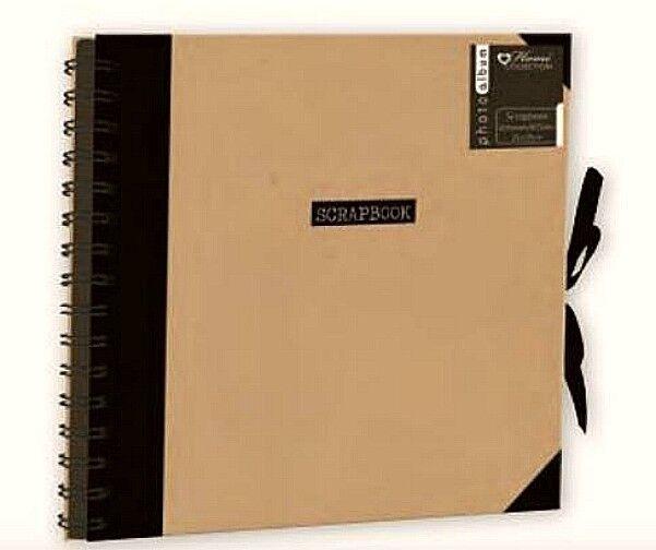 Scrapbook Hobby Craft Travel Spiral Bound Black 10 X10 Album Memory