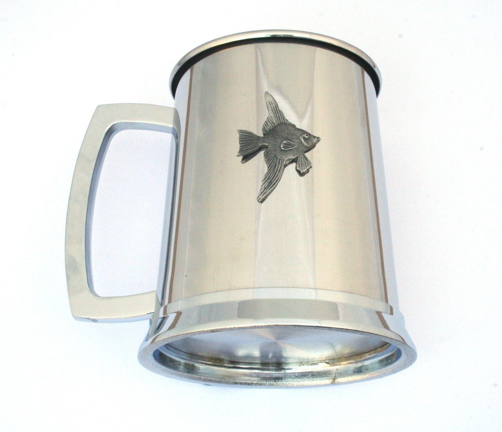 cb7fa88c2c3 Angelfish Tankard Metal Pint Drinks Fish Gift ncmyew7577-Novelties   Gifts