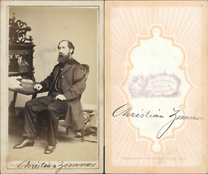 Chargement De Limage En Cours Anderson Amp Co Richmond Christian Zimmer Vintage CDV