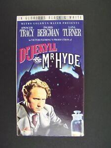 Dr. Jekyll and Mr Hyde VHS Spencer Tracy, Ingrid Bergma