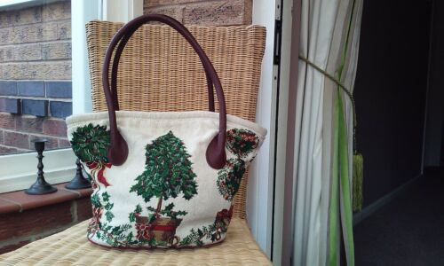 Christmas Handbag by Sander excellent condition  kept in original dustbag