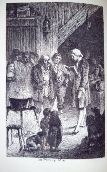 1880 Ca. Libro Picciola X.b. Saintine Paris Belle Stampe Acqueforti Di Flameng Vendite Economiche 50%