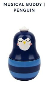 Sunnylife-Wooden-Wind-Up-Musical-Buddy-Penguin-no-box