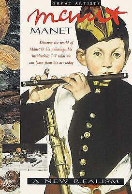 1 of 1 - Excellent, Manet: A New Realism (Great Artists Series - Snapping Turtle Guides),