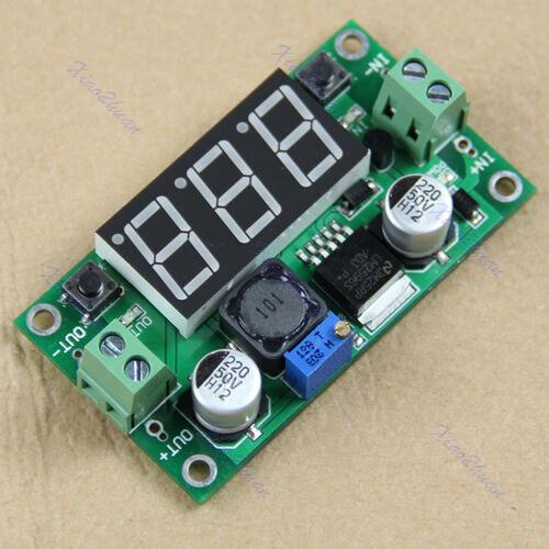 LM2596 DC-DC Voltage Regulator + Step Down Led Voltmeter Buck Converter Module