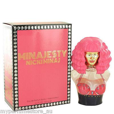 MINAJESTY 100ml EDP SPRAY FOR WOMEN BY NICKI MINAJ ----------------- NEW PERFUME
