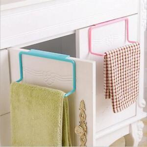 Towel-Rack-Hanging-Holder-Organizer-Cabinet-Cupboard-Hanger-Bathroom-Kitchen-YD