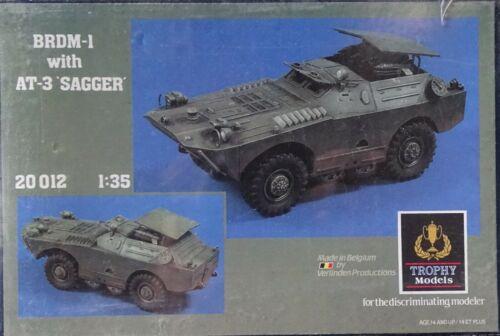 VERLINDEN PRODUCTIONS #20012 BRDM-1 w//AT-3 Sagger in 1:35