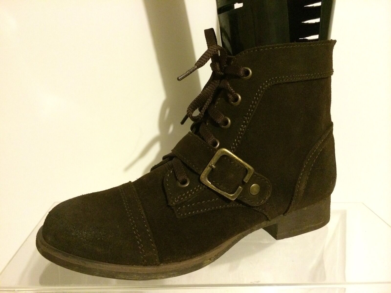 Zigi Soho Womens Brown Leather/ Suede Boots 7 M