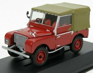 VANGUARDS 1/43 LAND ROVER | LAND I SERIES 80 SOFT-TOP 1948 | RED BROWN