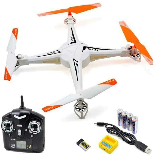 NEW Align M424 Quadcopter V2 Super Combo w/Remote/Battery/Charger FREE US SHIP
