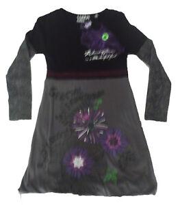 955e43fb6 Detalles de Vestidos niña de Creem girl , gris ,talla 10