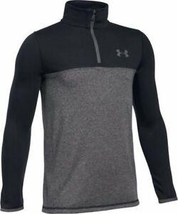 Under-Armour-Threadborne-Seamless-Boys-Jacket-Kids-Long-Sleeve-Shirt-UA-Zip
