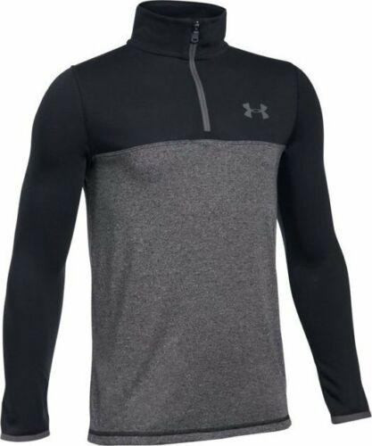 Under Armour Threadborne Seamless Boys Jacket Kids Long Sleeve Shirt UA Zip