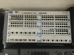 2-x-HP-ProCurve-Chassis-Enterprise-Switches