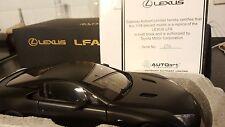 Rare AUTOart Lexus LFA Matt Black 1/18