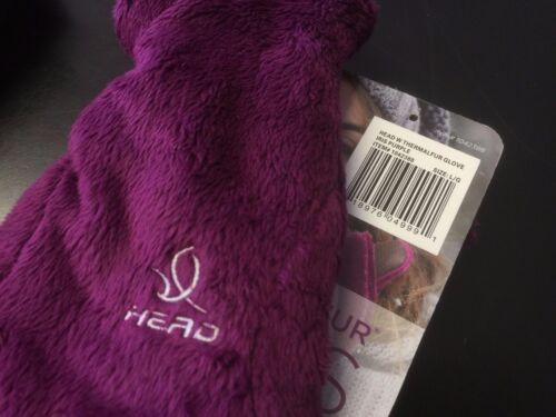 Women/'s Head Digital Sensatec Touch Screen ThermalFUR Gloves S M Black Charcoal