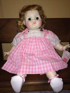 Vintage 1965 Madame Alexander Puddin Baby Doll Ma9000 Pink