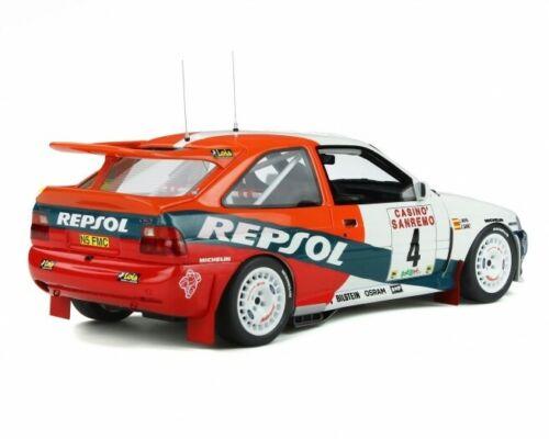 1:18 Otto ford escort rs cosworth gr a San Remo repsol sainz ot844 nuevo New