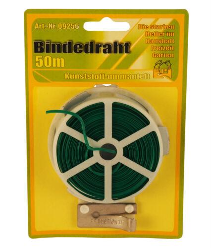 3 rollos en canutillos encuadernar bobina á 50m con plástico enfundados en verde y Cutter