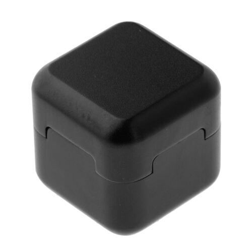Pool Cue Chalk Holder Pocket Billiard Chalk Holder Case Lightweight Black