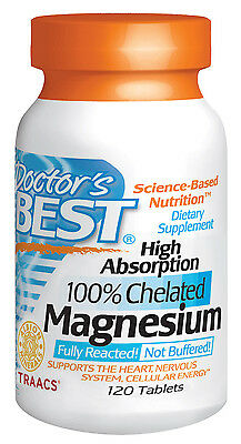 High Absorption Magnesium - by Doctors Best 120 tablets
