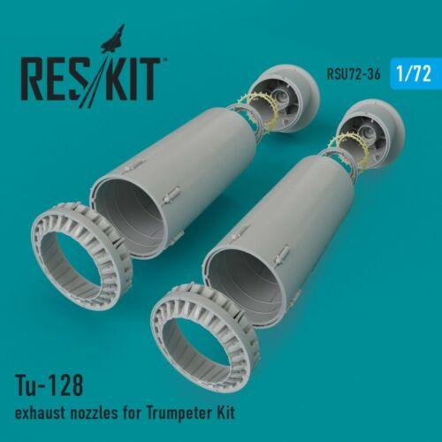 Details about  /ResKit RSU72-0036 Tu-128 Nozzles For Trumpeter Set Scale 1//72