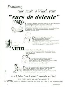 Publicite-ancienne-tourisme-Vittel-cure-de-detente-1953-issue-de-magazine