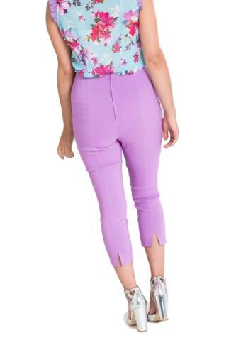 Hell Bunny Tina 50s Vintage Retro Style Capri Trousers 3//4 Length Pedal Pushers