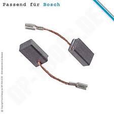 Kohlebürsten Kohlen Motorkohlen für Bosch GWS 12-125 CIE 6x10mm 1607000V37