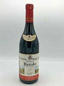 Barolo Docg 1979 Marchesi Di Barolo 'Vino Rosso (75cl,13,%)
