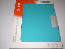 Cygnett Alumni Canvas Case Inside Pocket for iPad 1st, 2nd, 3rd & 4th Gen Blue