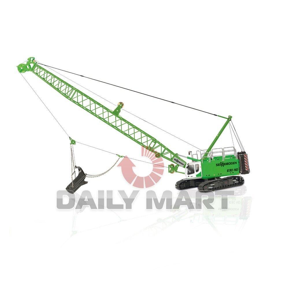 1 50  ROS SENNEBOGEN 690HD Crawler Crane avec DRAGLINE DIE CAST  authentique