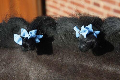 Eldorado Mähnenschleifen 20 St - hellblau Schleifen
