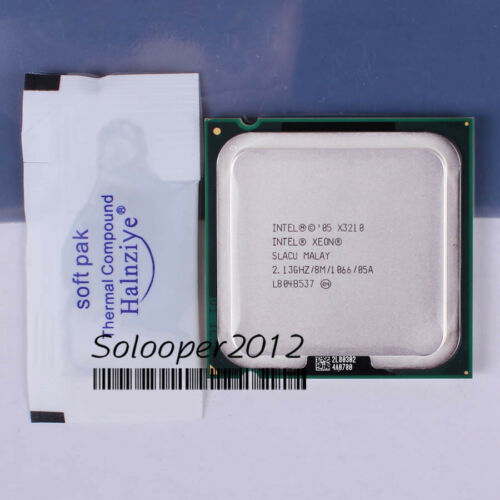 Intel Xeon X3210 X3220 X3230 X3350 X3360 X3370 LGA//775 Processor