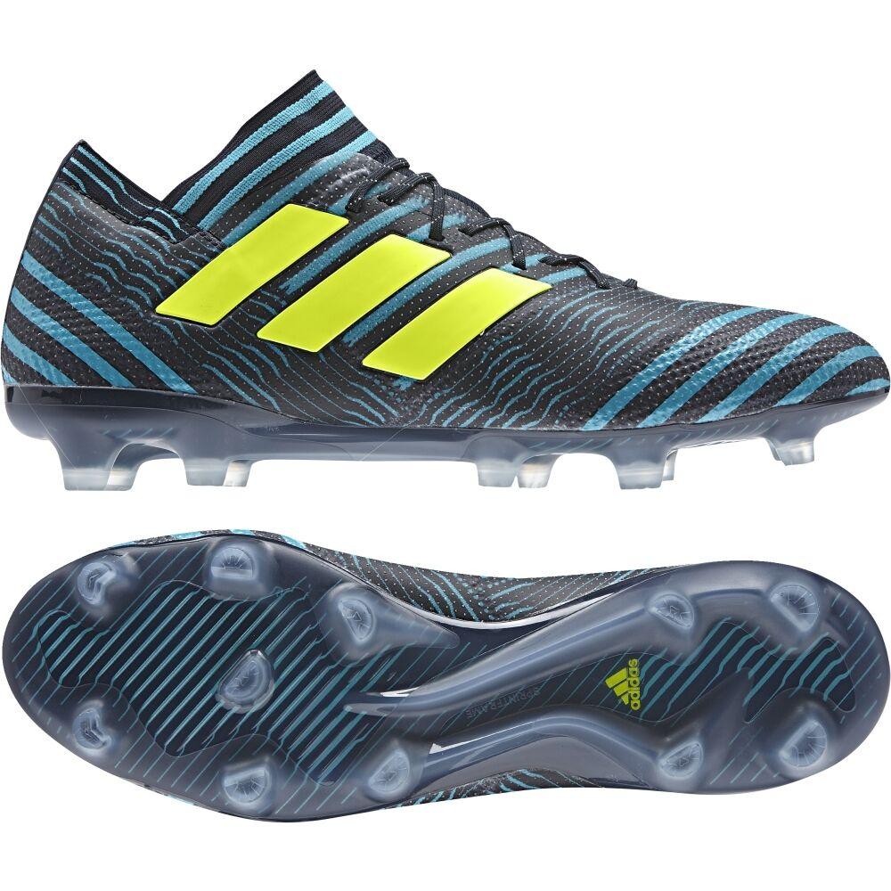 Adidas nemeziz 17.1 FG agilitymesh Soquí bb6078 negro-amarillo-azul