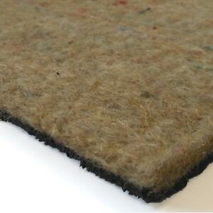 Premium 11mm Combination Rubber Crumb Felt Carpet Underlay
