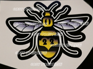 Manchester Bee fade car van window sticker decal vinyl - rochdale, United Kingdom - Manchester Bee fade car van window sticker decal vinyl - rochdale, United Kingdom