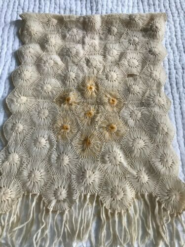 1930s/1940s Vintage Crochet Shawl/Wrap