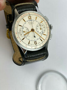 Excellent STRELA POLJOT 3017 Chronograph PILOT Russian Watch